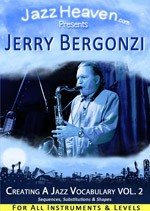 Jazz Saxophonist Jerry Bergonzi