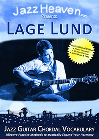Lage Lund Jazz Guitar Chordal Vocabulary