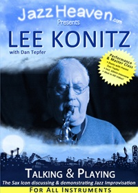 Lee Konitz Talking & Playing
